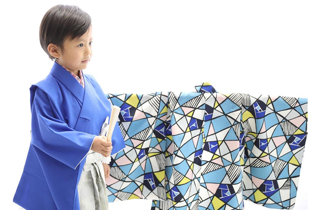七五三 五歳 男の子 羽織袴