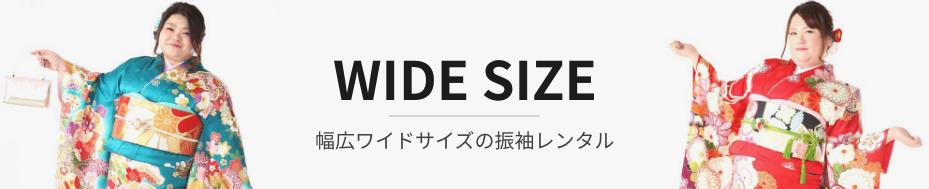 大きいサイズの振袖レンタル